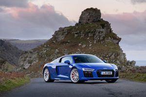 Фото бесплатно Audi R8, синий, спортивный