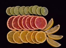 Фото бесплатно цитрусы, дольки, еда