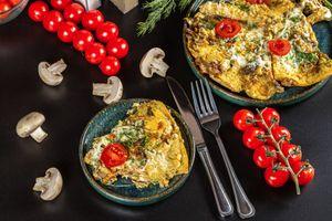 Фото бесплатно еда, нож, жареное яйцо