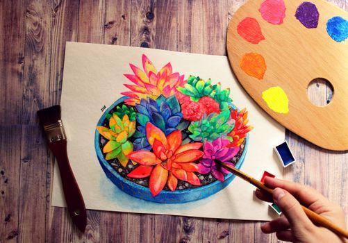 Фото бесплатно рукоделие, раскраски, живопись