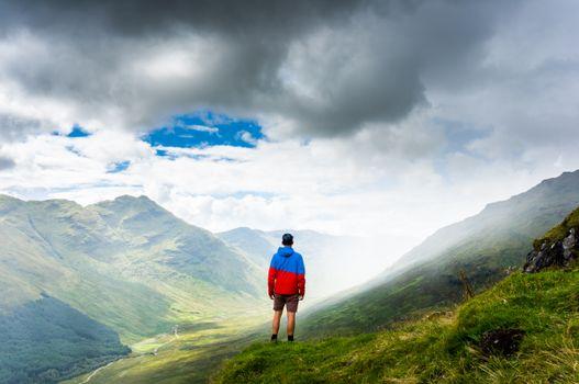 Фото бесплатно человек, пейзаж, природа