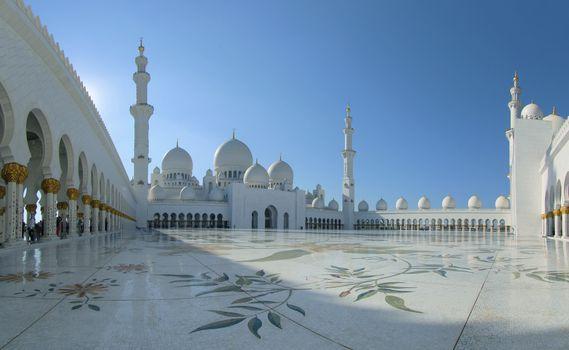 Фото бесплатно мечеть шейха Зайда, Абу-Даби, Объединенные Арабские Эмираты