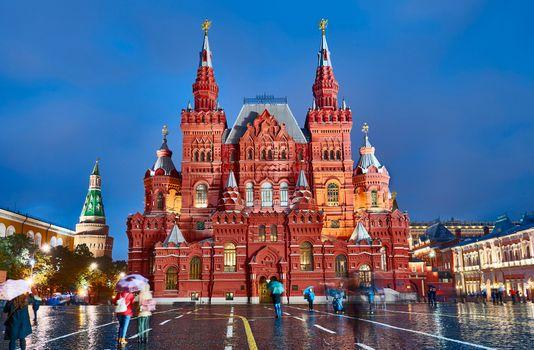Фото бесплатно Государственный исторический музей, Москва, Россия