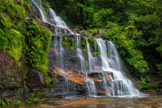 Фото бесплатно водопад, Blue Mountains of National Park, New South Wales