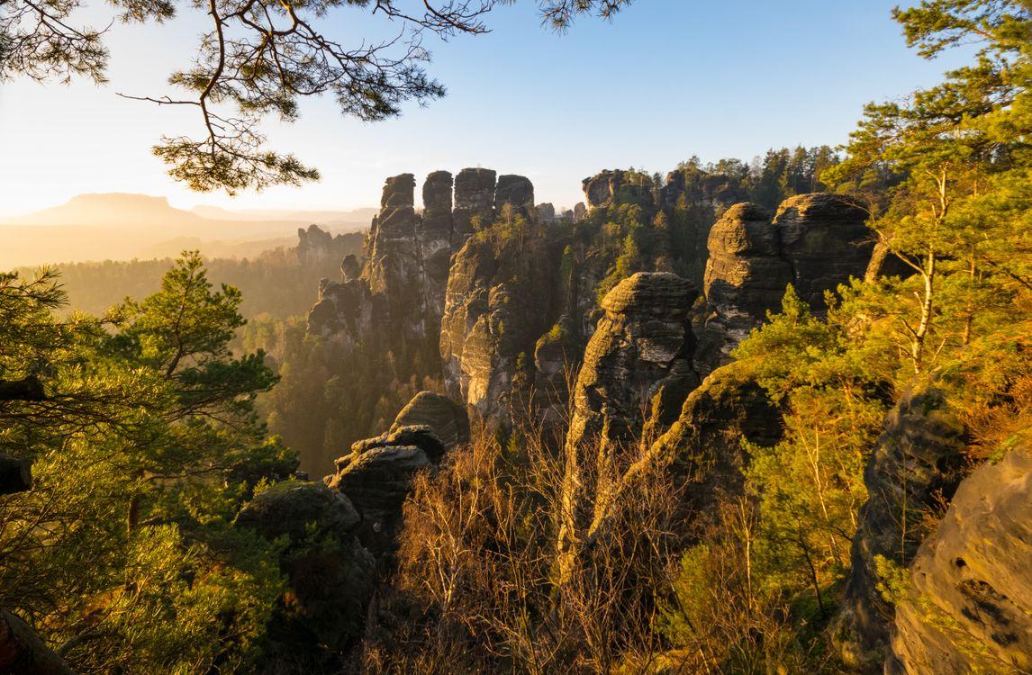 Фото природа Германия рок - бесплатные картинки на Fonwall