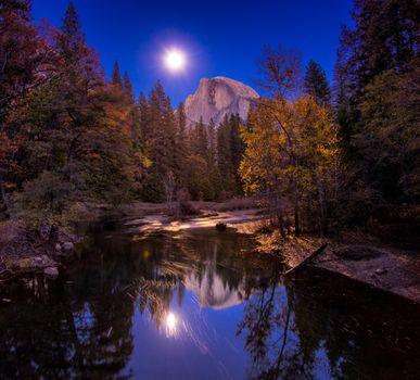 Photo free Yosemite, Merced River, Yosemite National Park