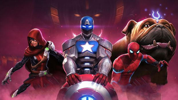 Заставки игры, marvel, Marvel Contest Of Champions