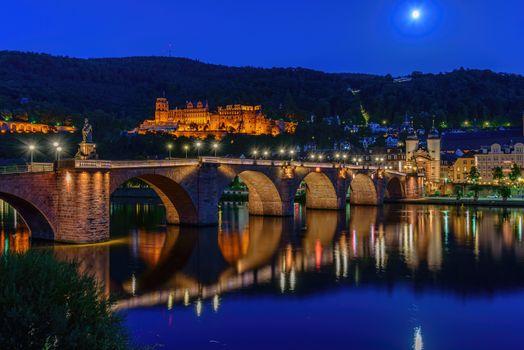 Фото бесплатно Гейдельбергский замок, Германия, Хайдельберг