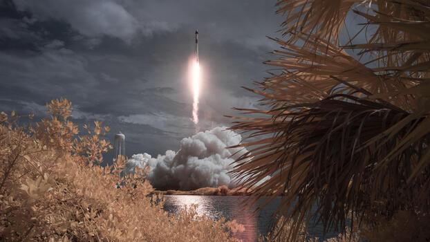 Photo free spaceship, rockets, Space X