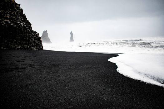 Фото бесплатно Iceland, природа, монохром