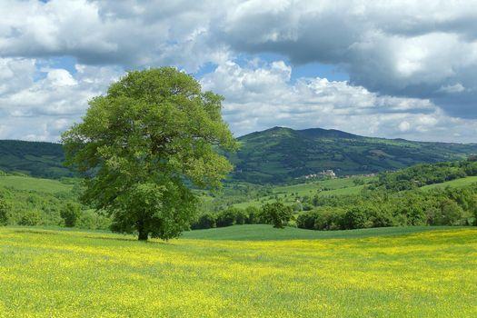 Фото бесплатно Monte Cerignone, Марке, Италия
