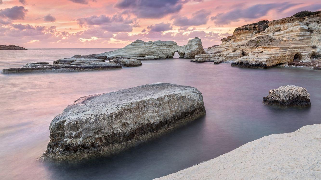 Фото бесплатно горизонт побережье песок - на рабочий стол