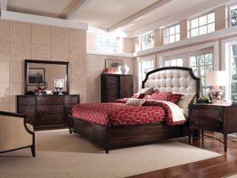 Дизайн спальни под старину