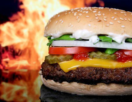 Заставки барбекю, говядина, бургер