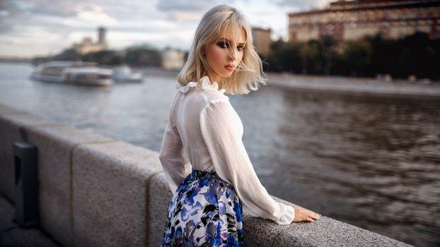 Photo free girls, outdoor, blonde