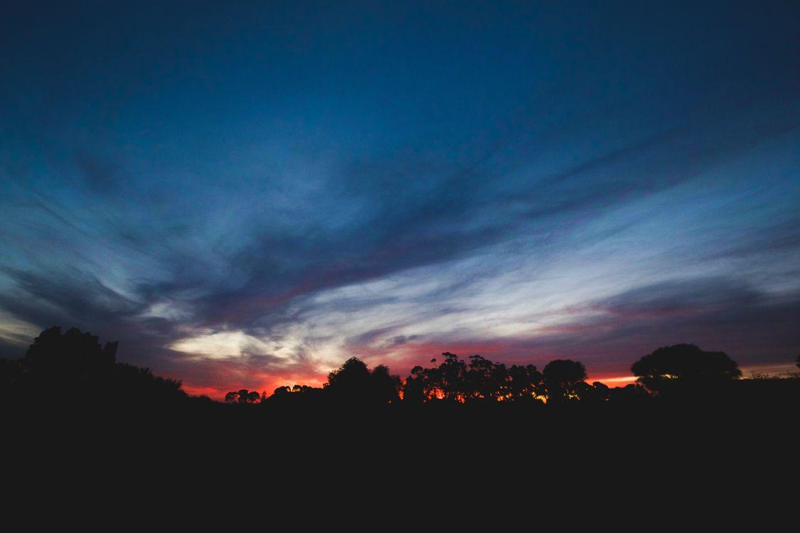 Закат солнца · бесплатное фото