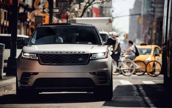 Photo free Range Rover Velar, street, urban