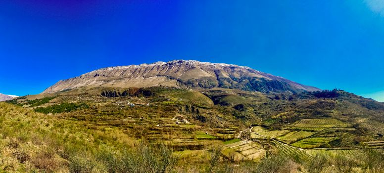 Photo free mountain, landscape, albania