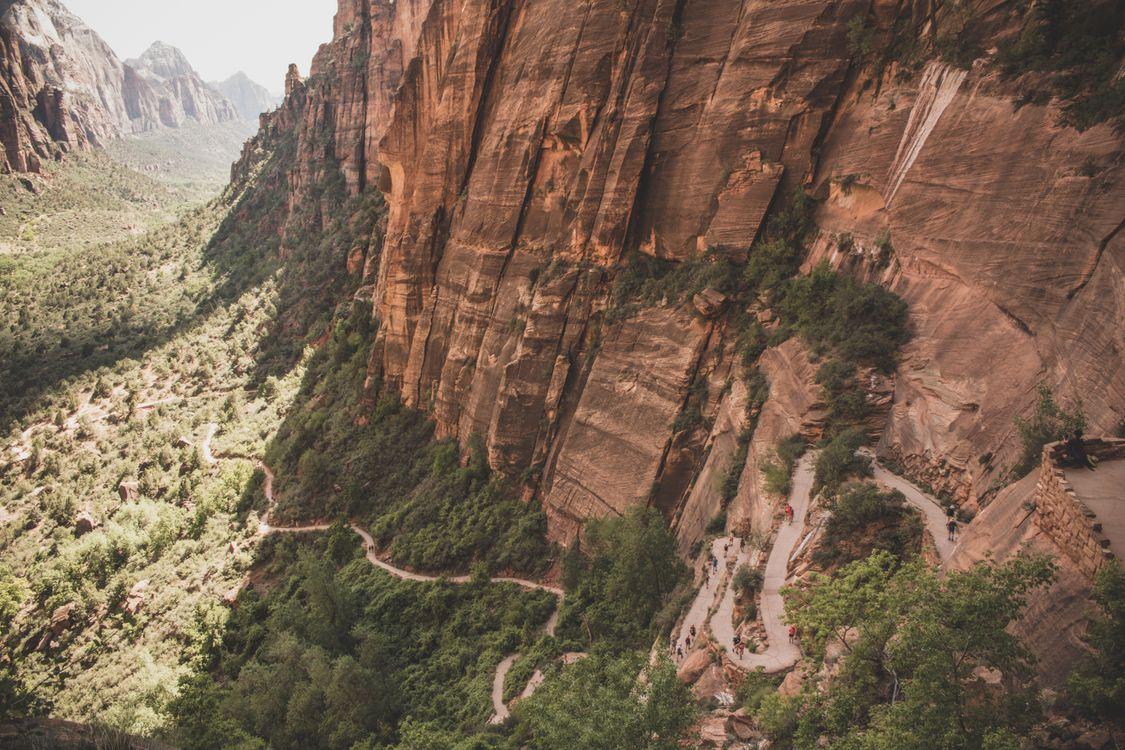 Фото горы долина формирование - бесплатные картинки на Fonwall