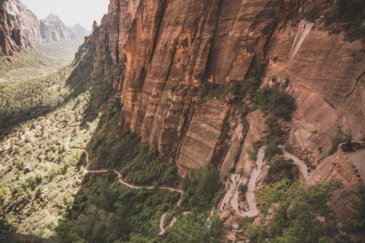 Фото бесплатно горы, долина, формирование