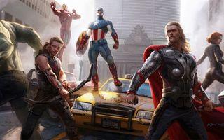 Бесплатные фото Мстители,Чудесная Вселенная Marvel,Тор,Железный Человек