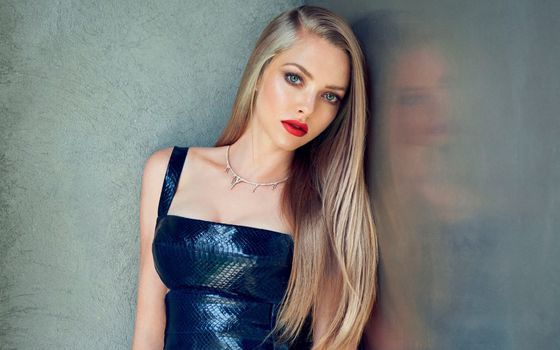 Photo free Amanda Seyfried, blonde, dress