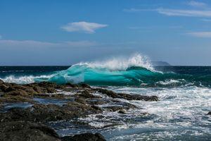 Фото бесплатно берег, песок, волна