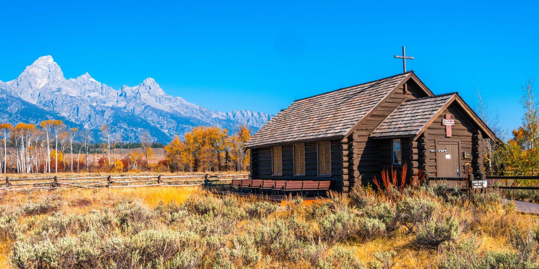Фото бесплатно природа, церковь, США - на рабочий стол