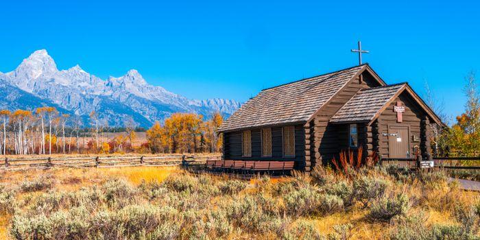 Фото бесплатно природа, церковь, США