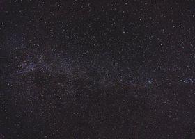 Фото бесплатно звездное небо, сияние, темнота