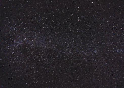 Photo free starry sky, radiance, darkness