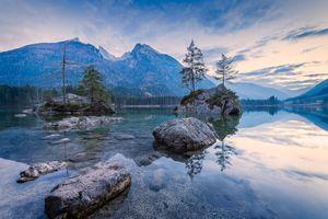 Фото бесплатно деревья, Bavaria, горы