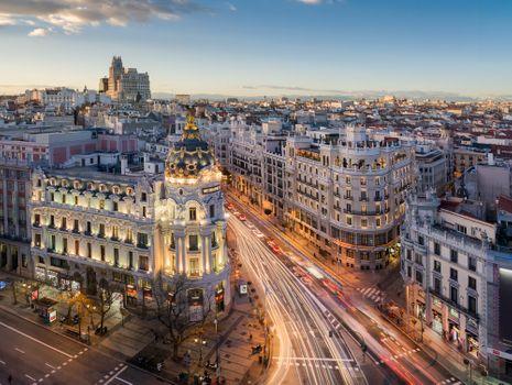 Заставки дома, Madrid, дорога