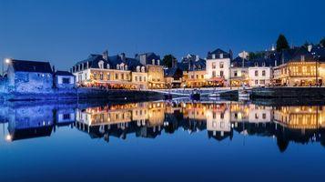 Красивый порт во Франции · бесплатное фото