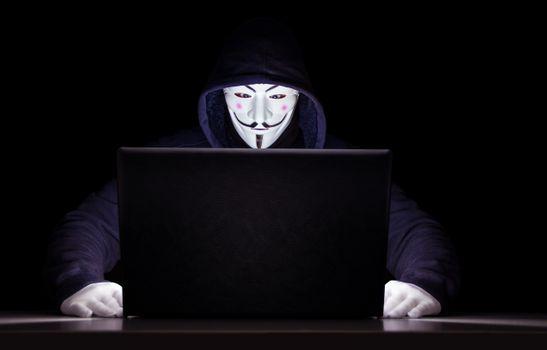 Заставки ноутбука, толстовка с капюшоном, анонимные