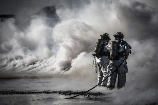 Фото бесплатно пожарные, службы, практика