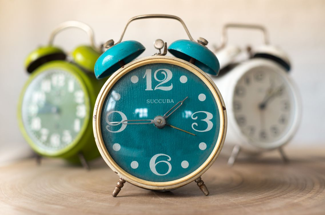 Photo alarm clock analog bell - free pictures on Fonwall