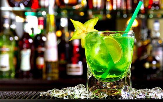Photo free cocktail, lemon, drink