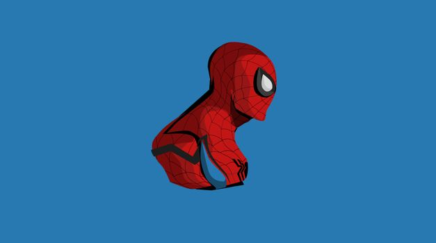 Фото бесплатно паук, минимализм, произведение искусства