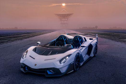 Photo free auto, Lamborghini, roadster