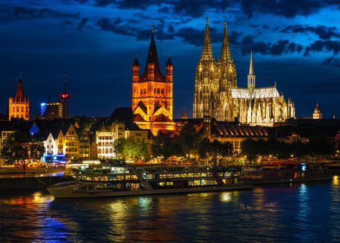 Фото бесплатно Кёльн, Рейн, Германия