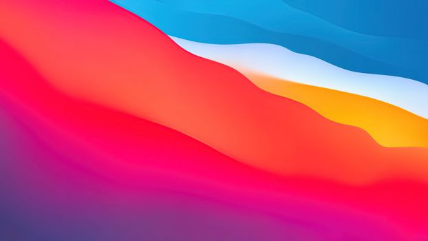 Photo free colorful waves, warm colors, stock photo