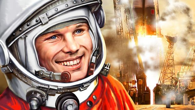 Photo free Yuri Gagarin, man, cosmonaut