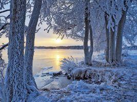 Бесплатные фото Lake Saimaa, Savonlinna, Finland, Озеро Сайма, Савонлинна, Финляндия, зима