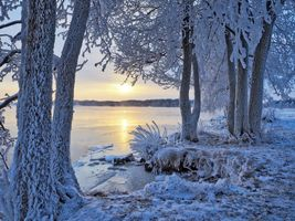 Фото бесплатно Финляндия, озеро Сайма, зима