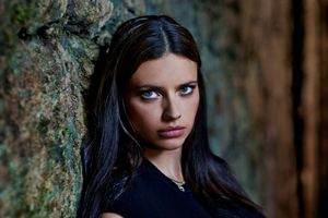 Бесплатные фото Adriana Lima,женщины,модель,брюнетка,голубые глаза,лицо,Victoria 039 s Secret