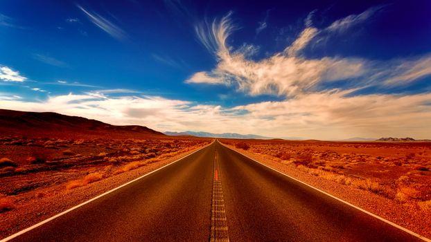 Фото бесплатно пустыня, дорога, природа