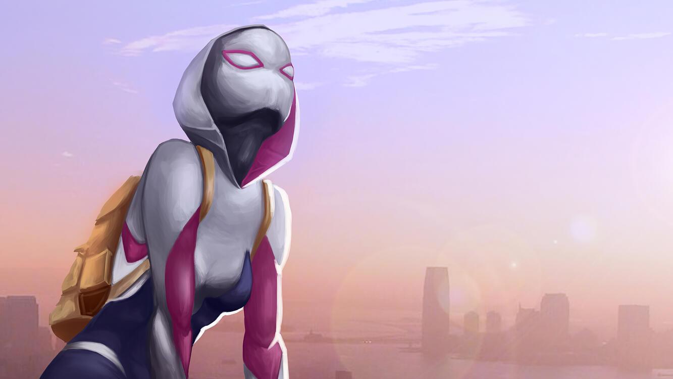 Фото гвен стейси супергерои произведение искусства - бесплатные картинки на Fonwall