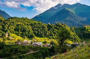Фото бесплатно природа, Georgia, горы