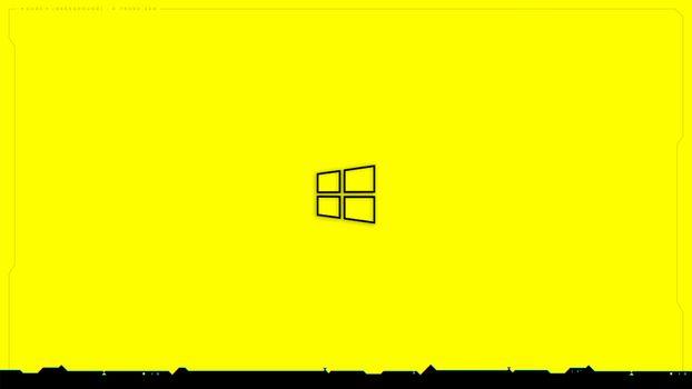 Photo free Windows 10, hi-tech, cyberpunk 2077